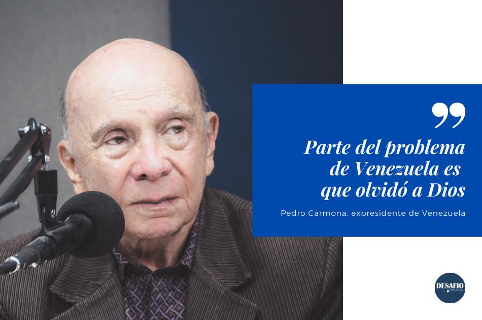 Pedro Carmona presidente de venezuela